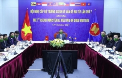 ASEAN ministers discuss drug issues